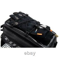 Tusk Olympus Tank Bag Noir/gris Petite Moto Dual Sport Enduro Adventure