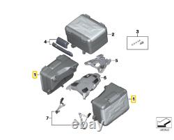 Une Nouvelle Moto Bmw K50 K51 Vario Case De Stockage Droit, 20-29l 77418567204