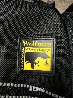 Wolfman M218 Explorateur Lite Réservoir Sac De Moto Bagages